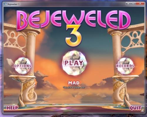 تحميل لعبة الالماس الجواهر كاملة مجانا للكمبيوتر الجديدة Bejeweled 3