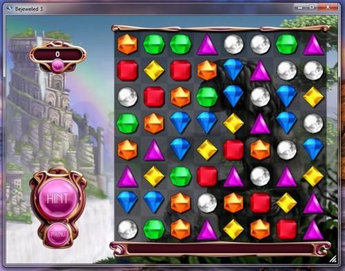 تحميل لعبة الماس الجواهر الجديدة مجانا للكمبيوتر Bejeweled 3
