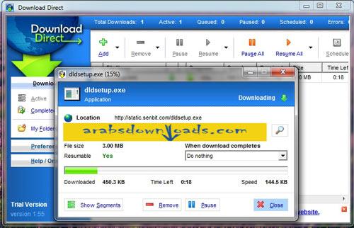تحميل برنامج دايركت داونلود Download Direct اخر اصدار 2015