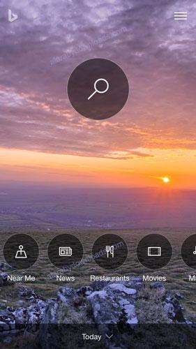 تحميل برنامج متصفح بنق للايفون bing for iphone