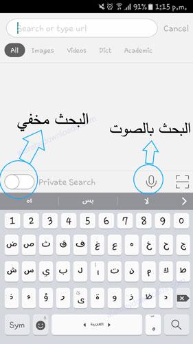 تحميل برنامج متصفح بنق للجوال mobile