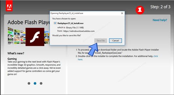 تحميل برنامج ادوبي فلاش بلاير للكمبيوتر - شرح تنزيل Adobe Flash Player