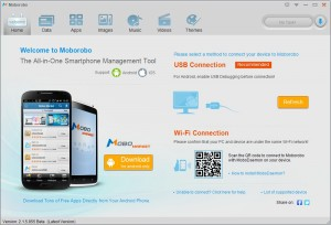 تحميل برنامج موبوروبو لإدارة جهاز الاندرويد Moborobo