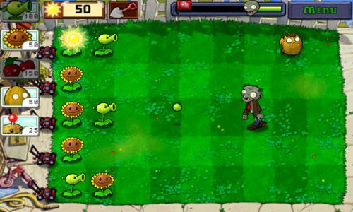 تحميل لعبة النباتات ضد الزومبي للاندرويد Plants vs Zombie - تنزيل لعبة الزومبي للاندرويد