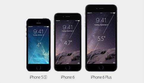 مقياس شاشة ايفون 6 وايفون 6 بلس