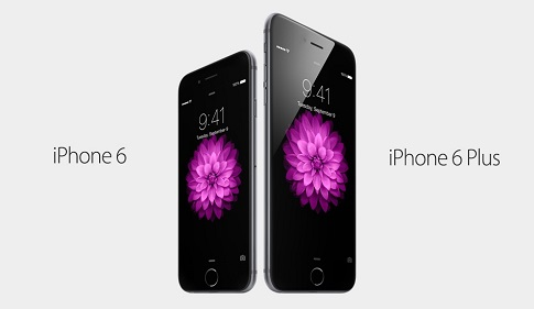 أبل تطلق هاتفها ايفون 6 وايفون 6 بلس