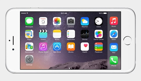 IOS 6 لهواتف ايفون 6 وايفون 6 بلس