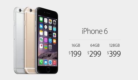 أسعار هاتف ايفون 6