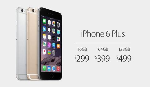 أسعار هاتف ايفون 6 بلس