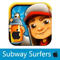 تحميل لعبة صب واي للايفون والايباد Subway Surfers
