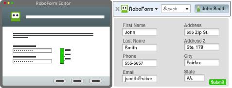 إختيار كلمة رئيسية - تحميل برنامج روبوفورم RoboForm