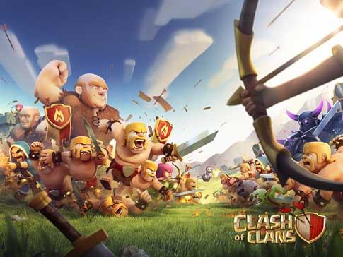 لعبة كلاش اوف كلانس Clash of Clans - تحميل افضل العاب الايباد المجانية 2016