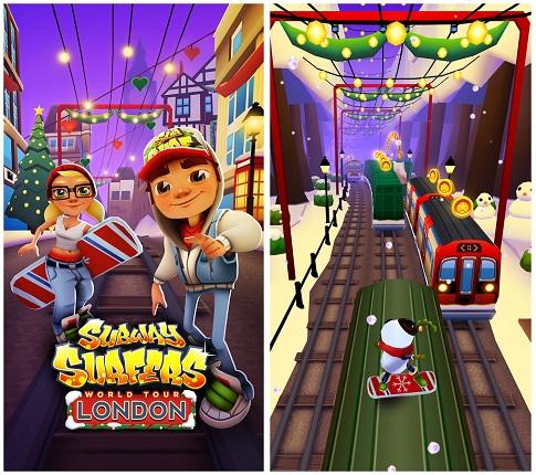 تحميل لعبة صب واي سيرفرس Subway Surfers للكمبيوتر كاملة مجانا