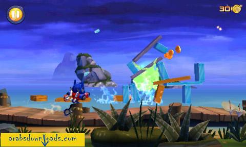تحميل لعبة الطيور الغاضبة المتحولون Angry Birds Transformers
