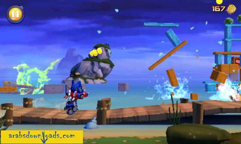 تحميل لعبة الطيور الغاضبة المتحولة Angry Birds Transformers
