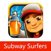 تحميل لعبة صب واي سيرفرس Subway Surfers