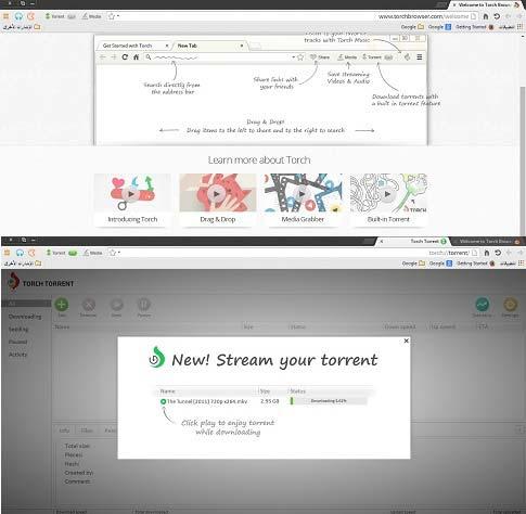 تحميل متصفح تورش عربي اخر اصدار Download Torch Browser