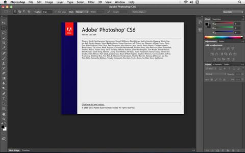تحميل برنامج فوتوشوب CS6 للماك الاصدار الرسمي يدعم العربية