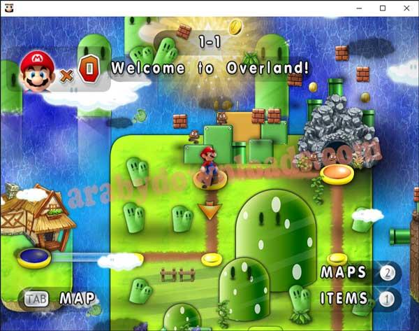 سوبر ماريو فور ايفر للكمبيوتر - Super Mario