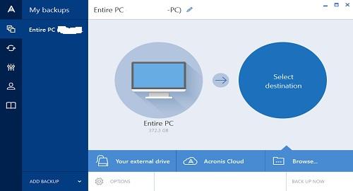 تحميل برنامج Acronis True Image 2015 للنسخ الاحتياطي للكمبيوتر