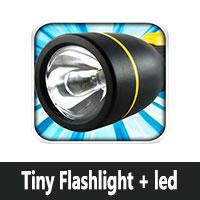 تحميل برنامج ضوء مساعد للاندرويد Tiny Flashlight + led مصباح كشاف فلاش