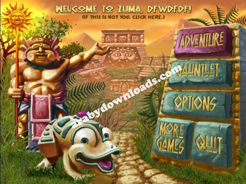 تحميل لعبة زوما مجانا للكمبيوتر اخر اصدار 2016 Zuma Deluxe