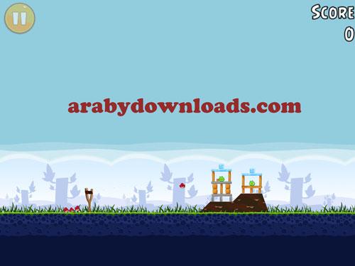 تحميل لعبة الطيور الغاضبة مجانا للايفون والايباد - Angry Birds للايفون والايباد
