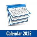 تحميل التقويم الميلادي 2015 والهجري 1436 صور مع الاجازات Calendar