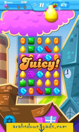 لعبة كاندي كراش ساجا Candy Crush Saga للايباد - تحميل افضل العاب مجانية للايباد