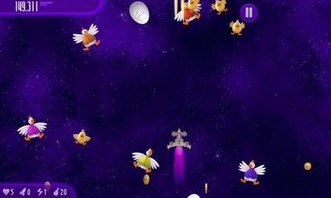 لعبة الدجاج 4 للاندرويد Chicken Invaders - تحميل افضل العاب الاندرويد مجانا