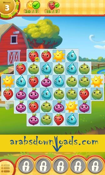 لعبة Farm Heroes Saga للاندرويد - تحميل افضل العاب الاندرويد مجانا