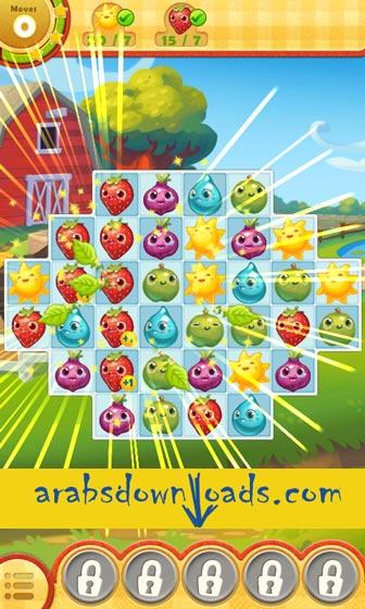 لعبة Farm Heroes Saga - افضل العاب الاندرويد Best Android Games