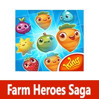 تحميل لعبة Farm Heroes Saga للاندرويد