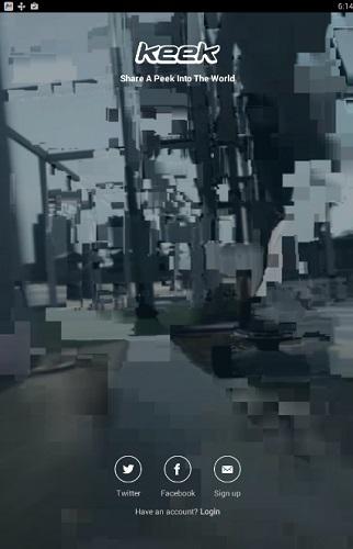 تحميل برنامج كيك Keek لمشاركة الفيديو للاندرويد والايفون