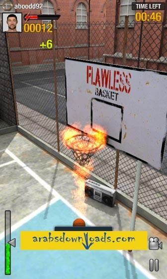 تحميل لعبة كرة السلة للاندرويد - افضل العاب الاندرويد مجانا