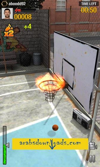 تحميل افضل العاب الاندرويد مجانا - Real Basket - افضل العاب الاندرويد مجانا Best Android Games
