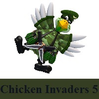 تحميل لعبة الدجاج 5 للكمبيوتر والجوال Download Chicken Invaders 5 for PC,Android,IOS