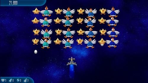تحميل لعبة الدجاج 5 للكمبيوتر والجوال Chicken Invaders 5 لعبة الفراخ اخر اصدار 2015