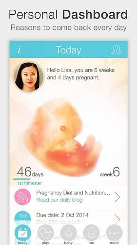 تحميل برنامج مواعيد الحمل والولادة للجوال Download Pregnancy Plus for Android