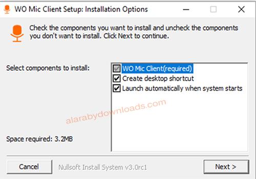 تحويل الجوال الى مايك لاسلكي للكمبيوتر تحميل برنامج WO Mic أحدث إصدار للموبايل