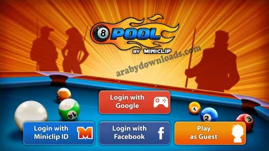 تحميل لعبة البلياردو للايباد والايفون والاندرويد 8 Ball Pool