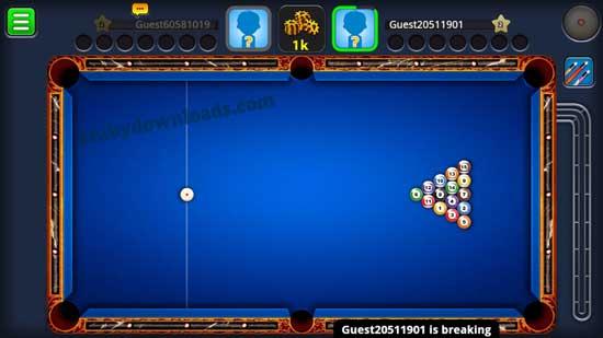 تحميل لعبة البلياردو للايباد والايفون والاندرويد Ball Pool 8 - بلياردو حول العالم