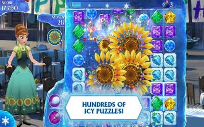تحميل لعبة ديزني الشتاء المتجمد للاندرويد Download Frozen Free Fall for Android
