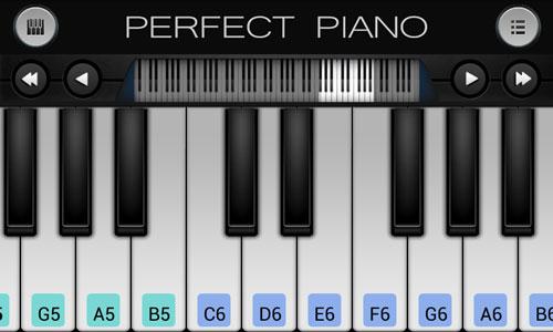 تحميل برنامج بيانو حقيقي للايفون والايباد Perfect Piano