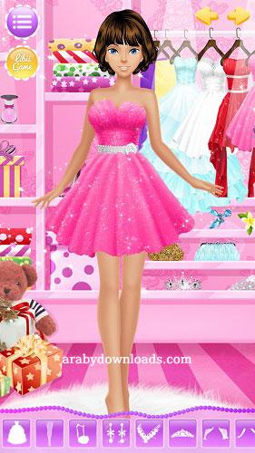 تحميل العاب بنات تلبيس للاندرويد مجانا رابط مباشر Girls Games Princess Salon