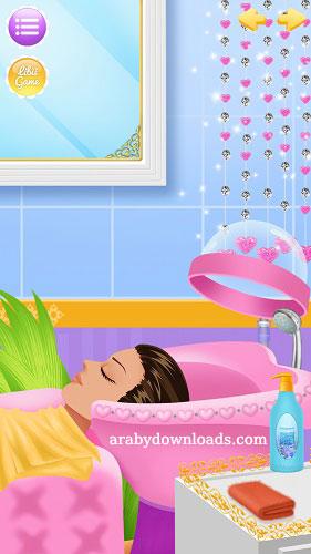 تحميل العاب بنات تلبيس للاندرويد Girls Games Princess Salon