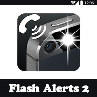 تحميل برنامج تشغيل الفلاش عند الاتصال Flash Alerts 2 للاندرويد