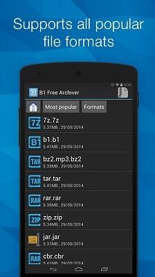 تحميل برنامج فتح الملفات المضغوطة للاندرويد Download B1 Archiver Zip Unzip Rar for Android