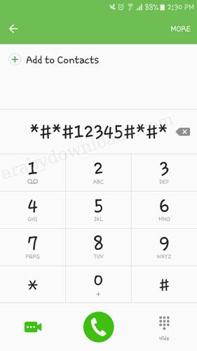 الرقم السري لاظهار برنامج تطبيق قفل التطبيقات