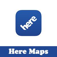 تحميل برنامج خرائط هير للايفون Here تطبيق الملاحة بدون انترنت